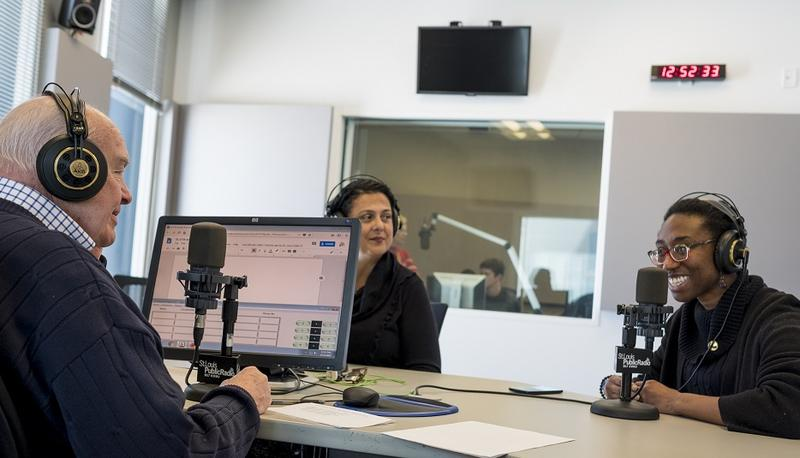 Sharing America editor Holly Edgell and reporter Ashley Lisenby talk with Don Marsh on St. Louis on the Air on March 14, 2018.