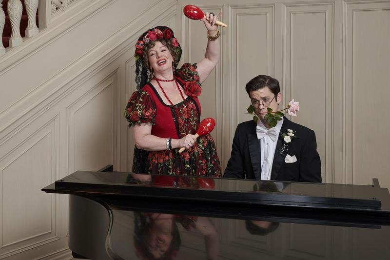 """Souvenir,"" the story of singer Florence Foster Jenkins, presented by Max & Louie Productions, won five Theater Circle awards including Outstanding Actress, Actor and Production of a Comedy."