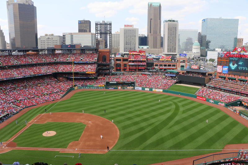Busch Stadium in 2014.