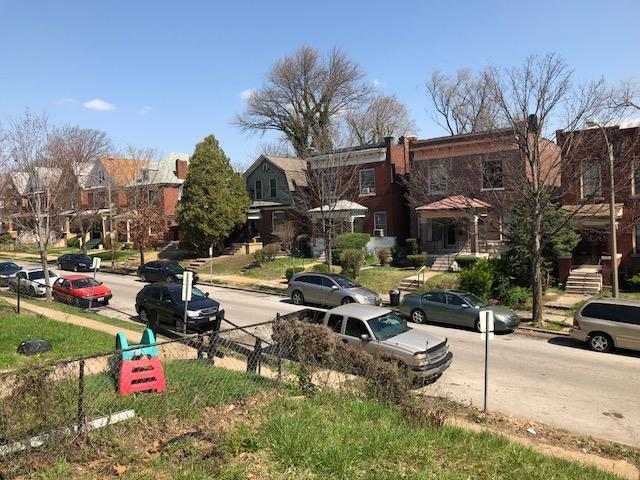 "Lotus Avenue in the Kingsway West neighborhood of St. Louis was mostly white until the ""white flight"" era of the 1960s and 1970s."