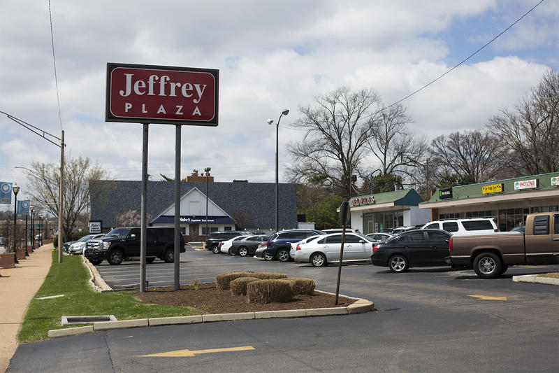 Business owners in Jeffery Plaza on Olive Boulevard say they have not been receiving updates about a proposed development that would displace them.