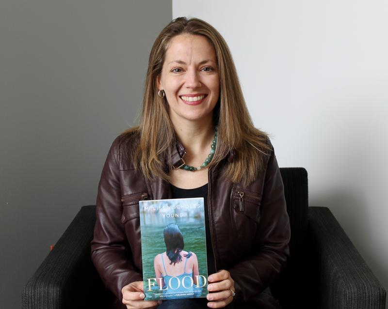 "Hannibal native Melissa Scholes Young is the author of ""Flood."""