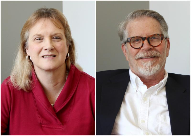 Jacqueline Hudson (left) and Michael Morrison (right) joined host Don Marsh in studio to discuss disparities between mental healthcare needs and access to care in Missouri.