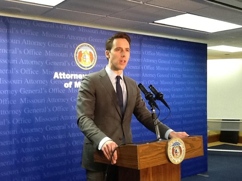 Atty. Gen. Josh Hawley announces his office has subpoenaed Facebook over how it handles user data.
