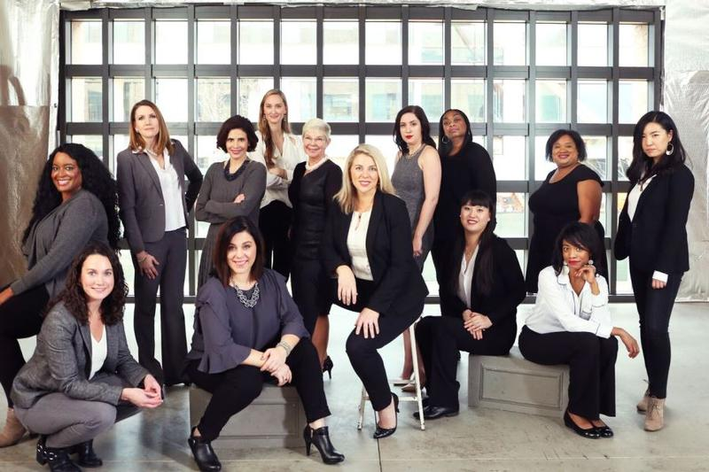 Brazen Global CEO and President Jennifer Ehlen (pictured seated in center) says the organization has hired acting directors in each market to lead programming, operations and collaboration with local entrepreneurs.