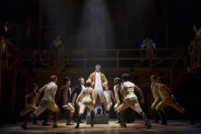 "Tickets to the touring version of ""Hamilton,"" coming to the Fox Theatre, sold out in less than five hours."
