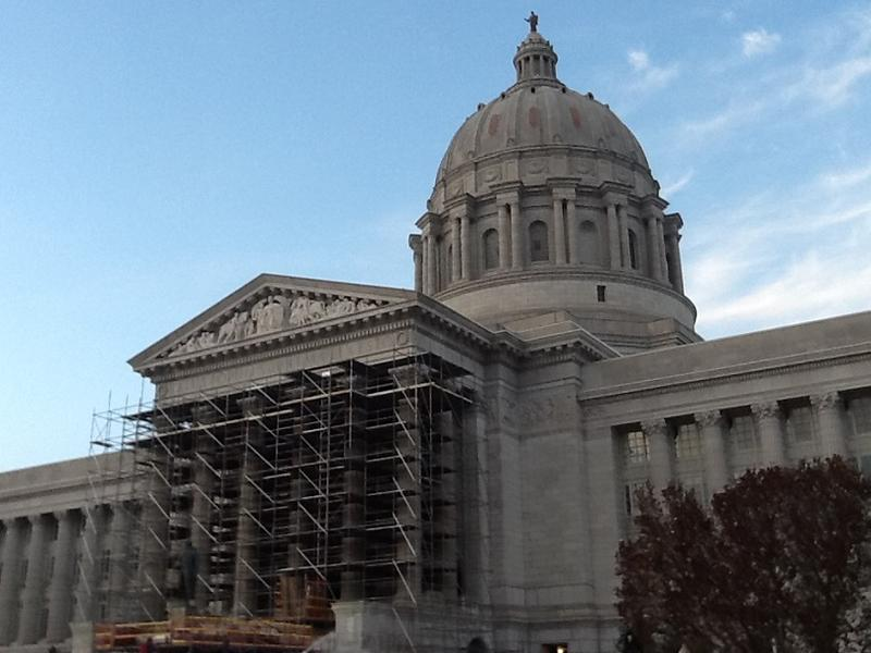Missouri Capitol on April 24