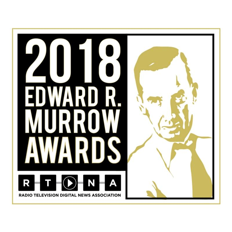 2018 Regional Edward R. Murrow Awards Announced