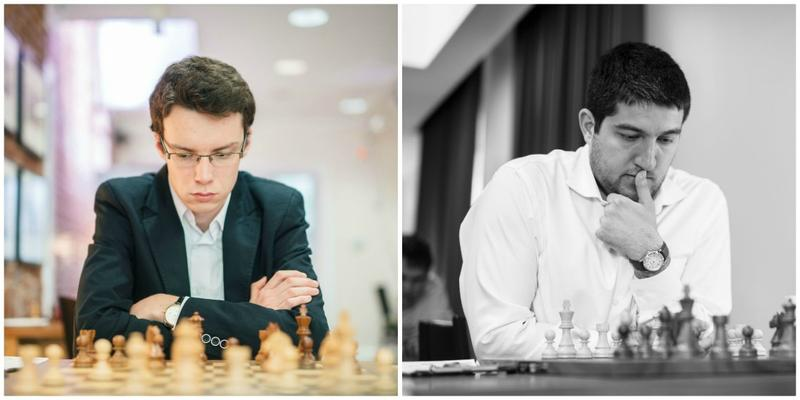 Kamil Dragun (left) won Group B and Vasif Durarbayli won Group A in the 2018 Summer Chess Classic