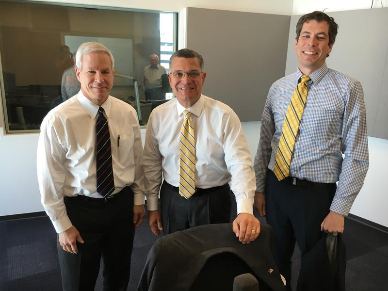 Sen. Rob Schaaf, former Sen. Jim Lembke and Sean Soendker Nicholson
