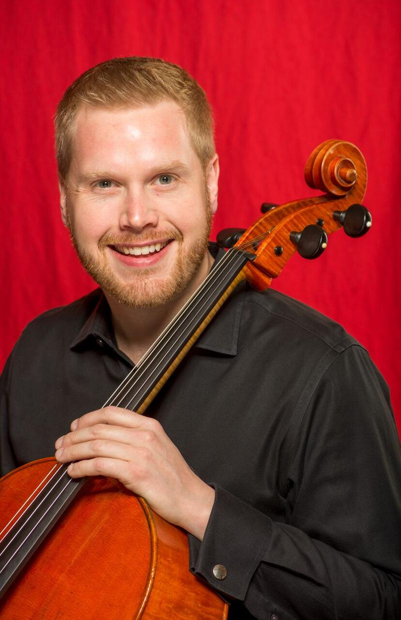Cellist Bjorn Ranheim joined the St. Louis Symphony in 2005.
