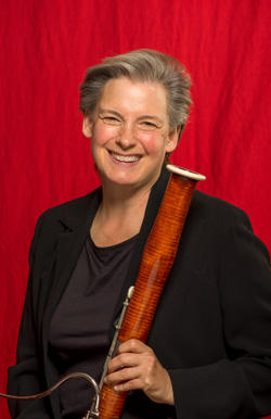 Bassoonist Felicia Foland has been with the St. Louis Symphony since the early 1990s.