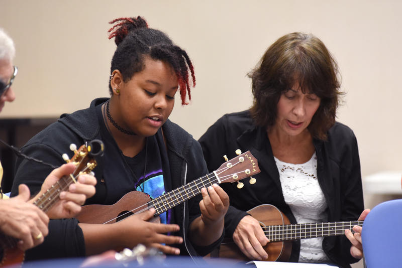 Musical instruments will be available to check out at four St. Louis County libraries starting June 25, 2018.