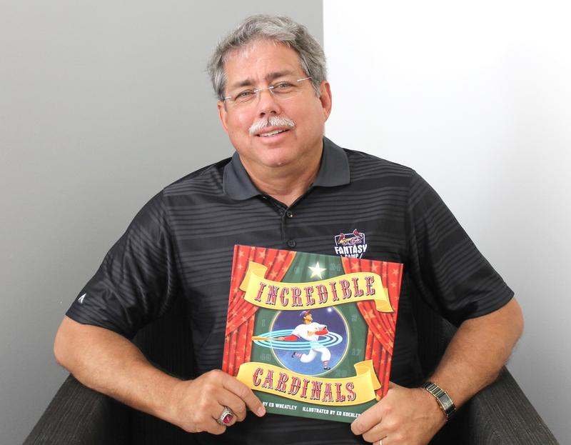 "Ed Wheatley joined Don Marsh for a discussion about his illustrated children's book ""Incredible Cardinals."""