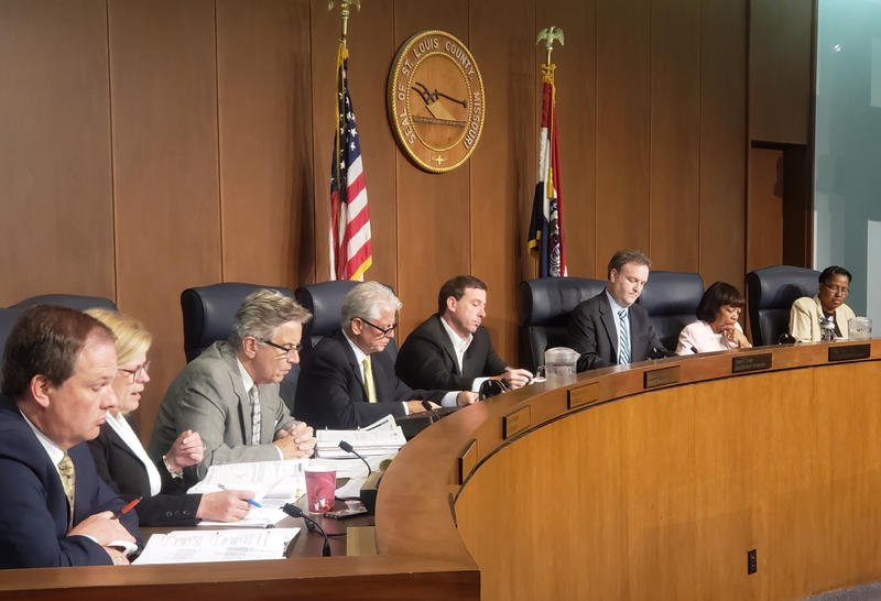 The St. Louis County Council continued its fight with County Executive Steve Stenger July 18, 2018, overriding three vetoes.
