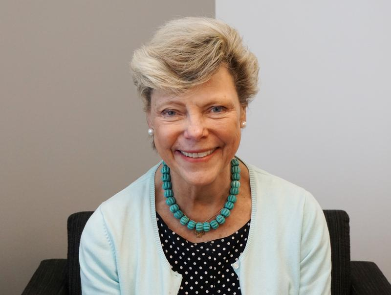 NPR political commentator Cokie Roberts is in St. Louis for a presentation at the Missouri History Museum.