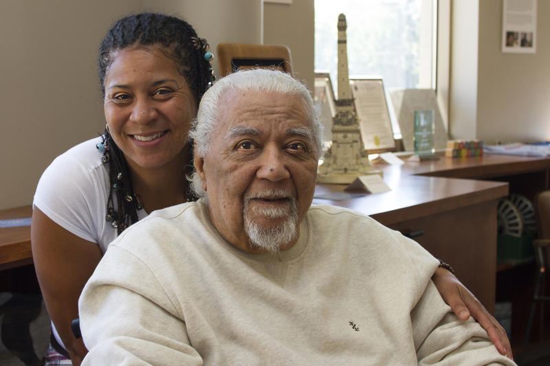 Former Homer G. Phillips physician Earle U. Robinson Jr. and his daughter, Rebecca Robinson-Williiams worked together to create a documentary about Robinson's time at the historic black-run hospital in the Ville.