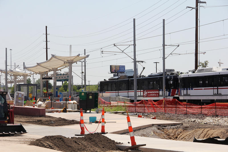 Construction on the new station began last summer. Metro is now planning the next phase in its project to improve transportation options around the Cortex district.