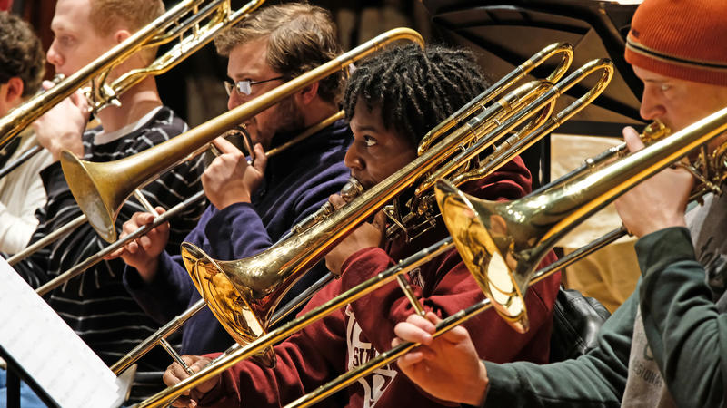 Students training with UMSL's jazz ensemble will get an enhanced travel budget, in addition to other improvements to the program. 7/24/18
