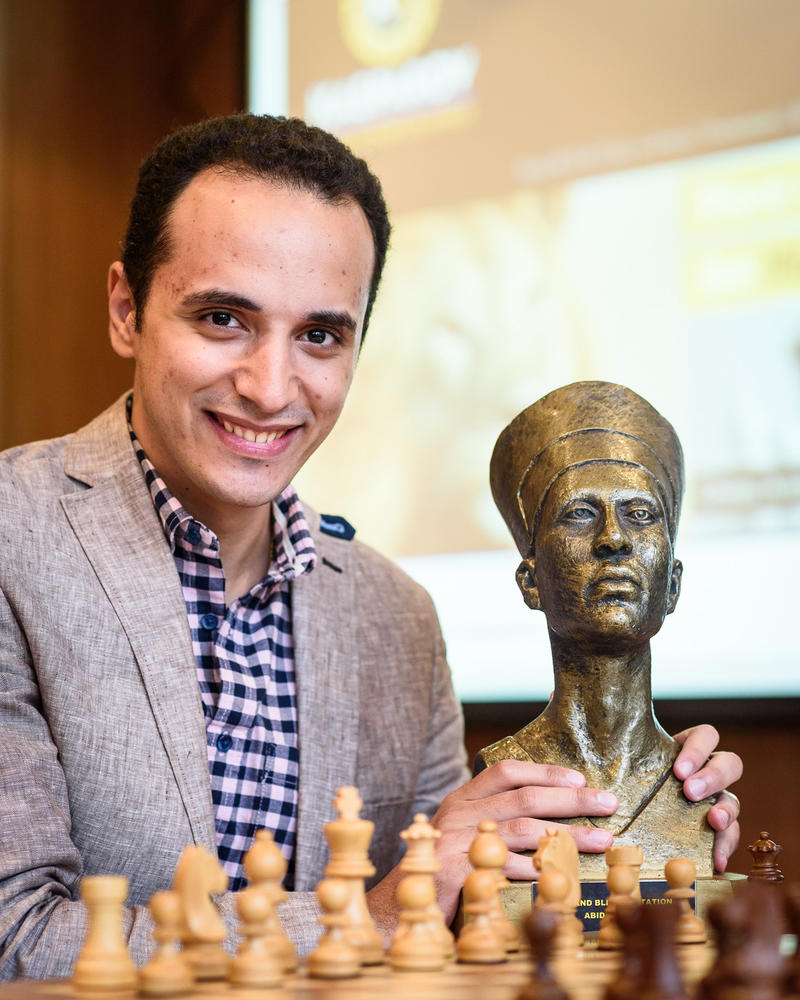 Grandmaster Bassem Amin of Egypt won the Cote d'Ivoire Rapid and Blitz Invitation in July, 2018.