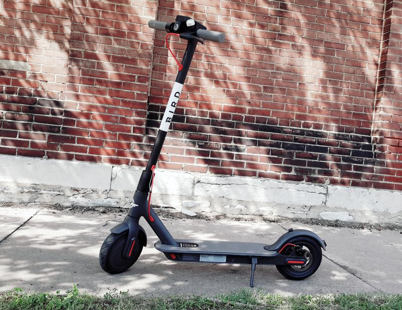 Smartphone-based GPS tracking systems allow people in the St. Louis area to locate, unlock and ride the scooters recently launched by rival companies Lime and Bird.