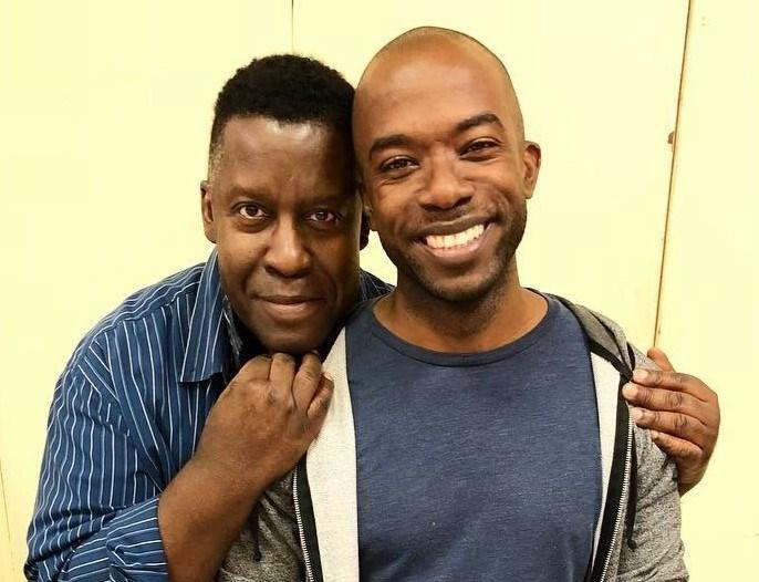 Tazewell Thompson, at left, is a trustee with the Kurt Weill Foundation for Music. He has served as a mentor to Shaun Patrick Tubbs, the stage director for the production that opens Friday.