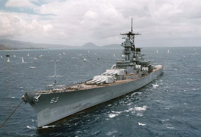 The historic battleship USS Missouri was the site of the Japaense surrender during WWII.