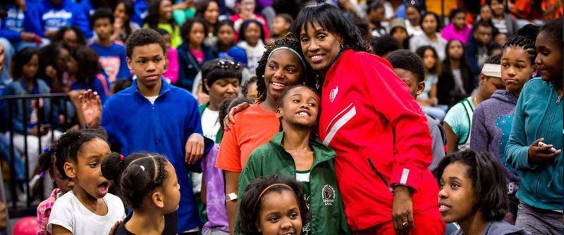 Olympic gold medalist Jackie Joyner-Kersee will be at the East St. Louis Heritage Festival on Sunday. Aug. 26, 2018