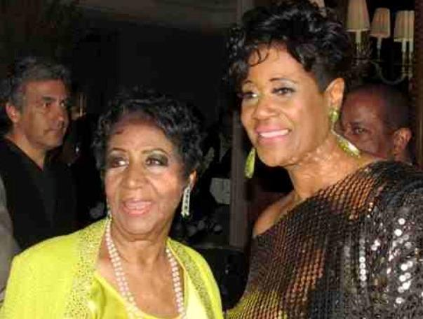 Several years ago, when Aretha Franklin (at left) was planning her birthday party in New York City, she gave Denise Thimes a call and asked the St. Louisan to sing for her.