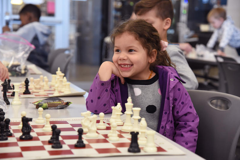 After-school meals will be available at six library branches, paired with activities like weekly chess instruction.  8/12