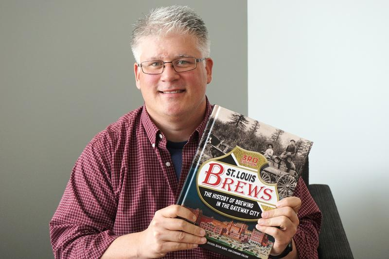 """Cameron Collins is the co-author of the third edition of """"St. Louis Brews: The History of Brewing in the Gateway City."""""""