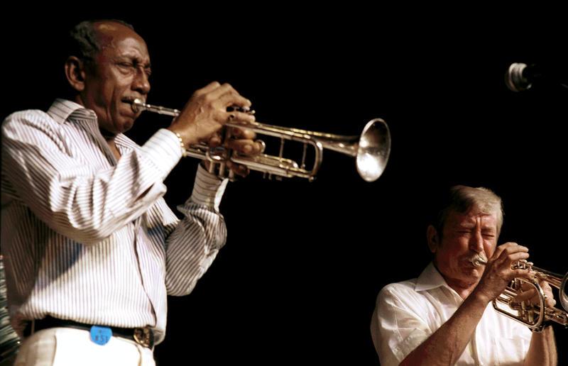 Joe Newman & Bill Berry-1987