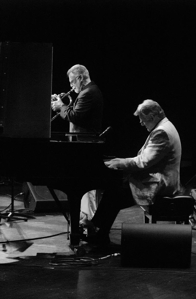 Marvin Stamm (not heard) and Bill Mays-2010