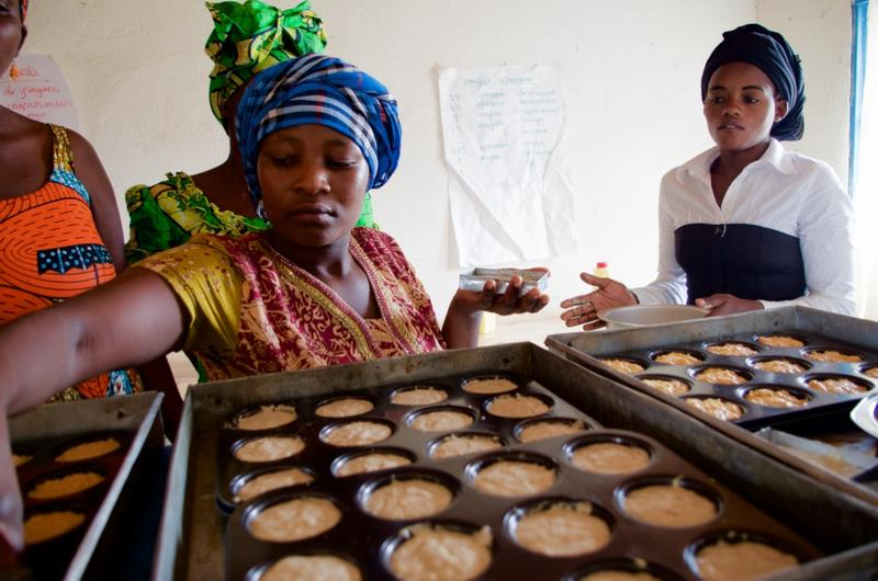 The Women's Bakery opened three years ago in Kigali, Rwanda. Founded by St. Louis native Markey Culver, it's a social-enterprise business focused on training and employing women.