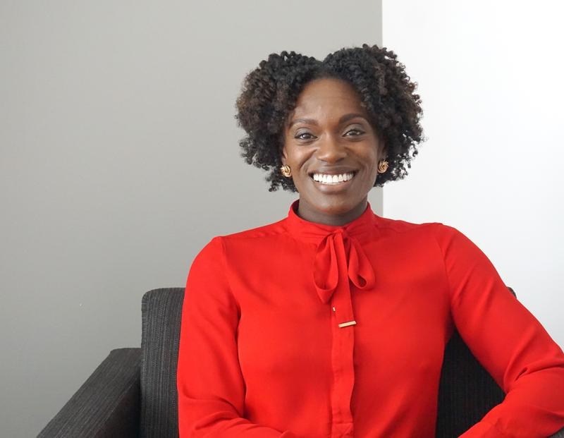 Dawn Harper Nelson returns to St. Louis after retiring from her running career aind aims to connect to people through her speaking engagements.