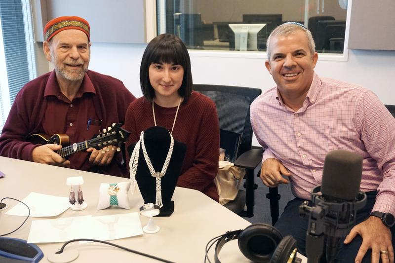 (L-R) Will Soll, Rachel Zolotov and Rabbi Brad Horwitz talked about showcasing Jewish arts and culture in St. Louis.