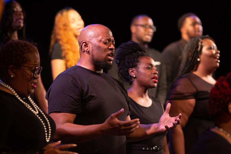 "Normandy High School teacher Duane Foster said it was a luxury to spend seven weeks of this school year in the off-Broadway production of ""Angtigone in Ferguson."""