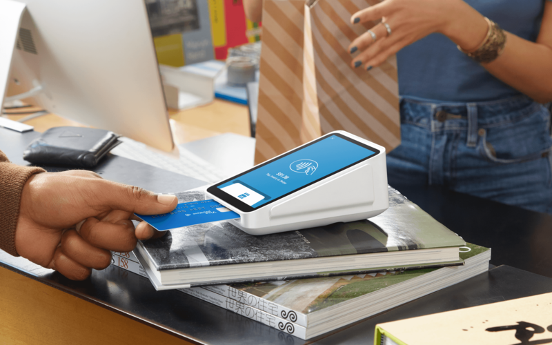 Square launches new payment processing device.