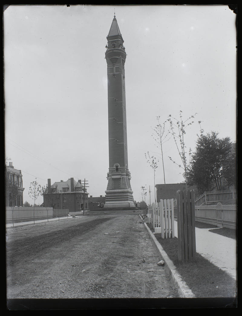 St. Louis built the Bissell Street water tower to help regulate the city's water pressure.