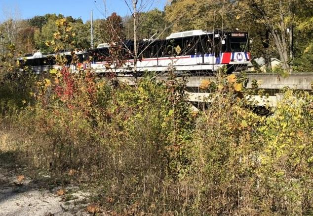 The St. Clair County Transit District will extend a trail system by 3.5 miles to provide greater pedestrian and cycling access to MetroLink stations.
