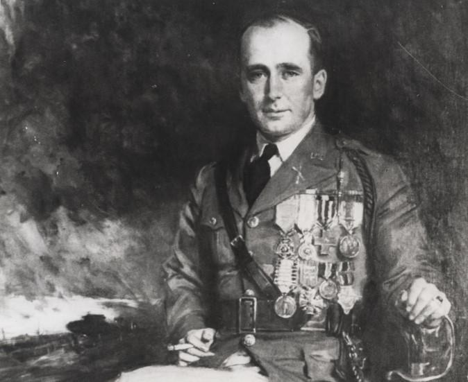 Missourian John Lewis Barkley was awarded the Congressional Medal of Honor for actions he took Oct. 7, 1918. This image of him is from a painting done by Howard Chandler Christy in 1930.