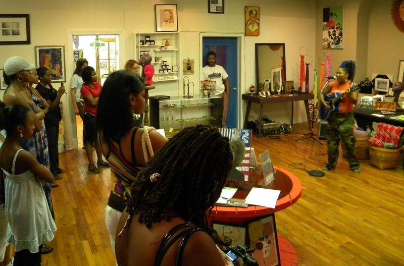 Yeyo Arts Collective uses its space for art classes and performance events as seen in this 2012 photo at its former space at 2700 Locust Ave.