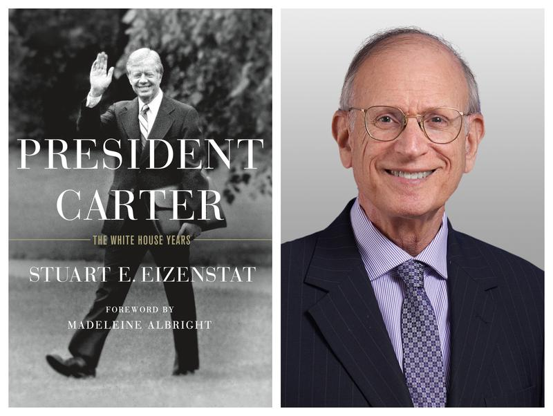 "Ambassador Stuart Eizenstat (at right) is the author of the book ""President Carter: The white House Years."""