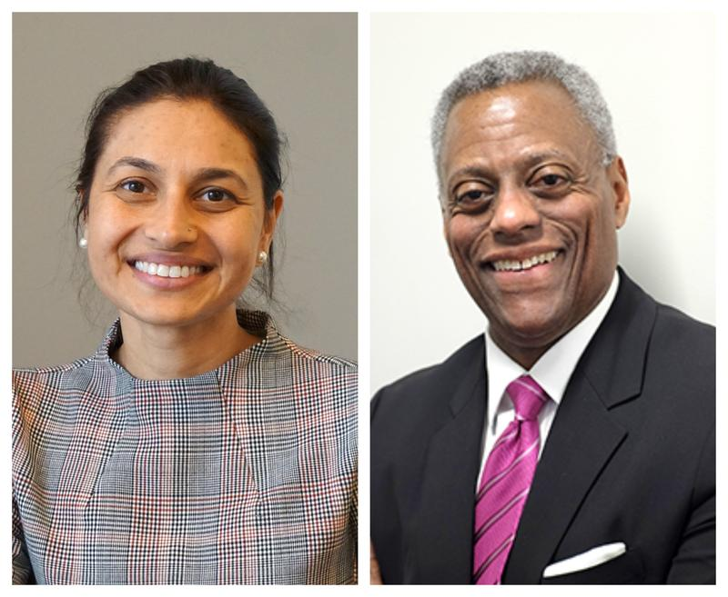 Dr. Rupa Patel (left) and Jesse Milan discussed the past, present and future of HIV/AIDS in St. Louis and beyond on Tuesday's St. Louis on the Air.