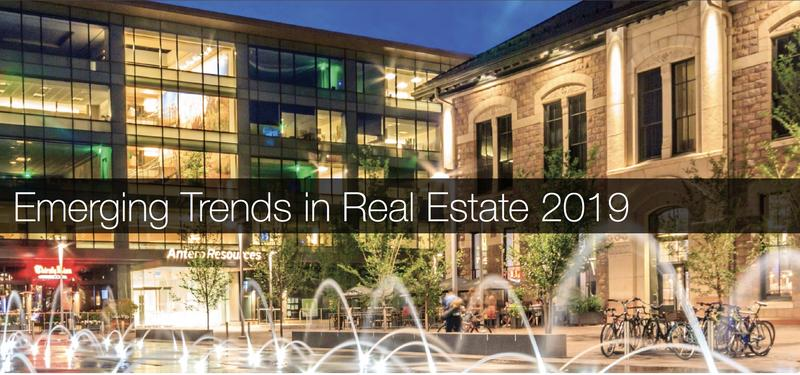 Emerging trends in real estate report presented Dec. 5, 2018 at COrtex