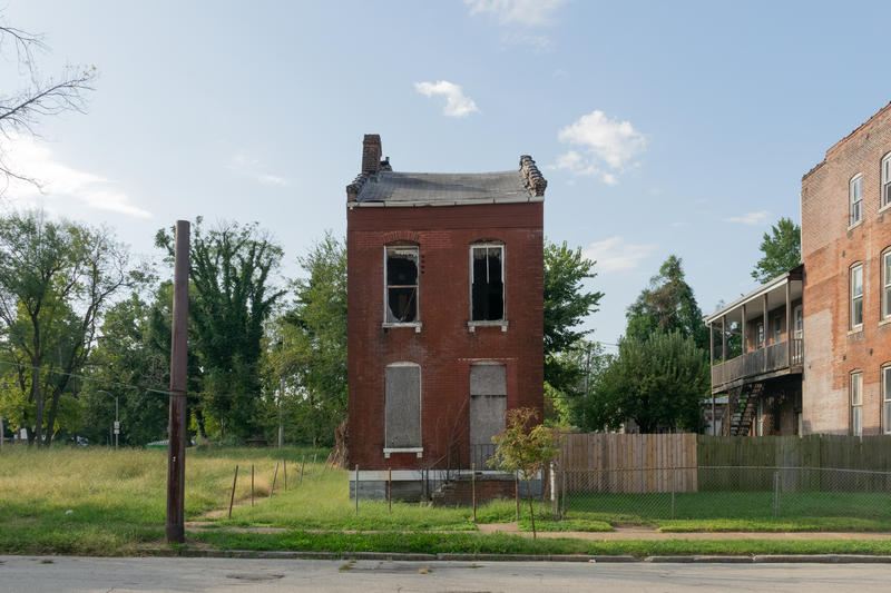 This Northside Regeneration property photographed in September was assessed with a $650 fine in August for unresolved building code violations. The case, one of four of its kind filed against the developer this fall, went to court in October.