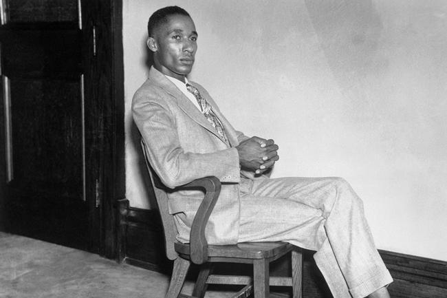 Lloyd Gaines, who sued to be admitted to the University of Missouri Law School in 1935, which only accepted white students then. His case was a stepping stone to school desegregation.