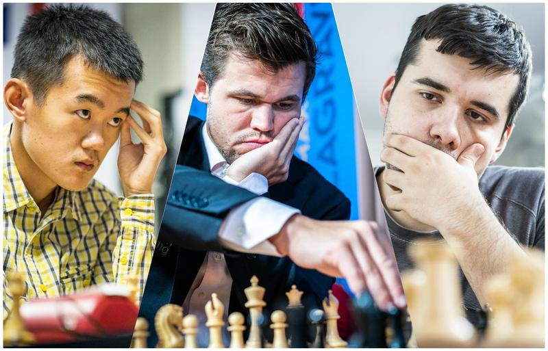 """Ding Liren, Magnus Carlsen and Ian Nepomniachtchi are the favorites for winning the """"Wimbledon of chess,"""" also known as the 2019 Tata Steel Masters."""