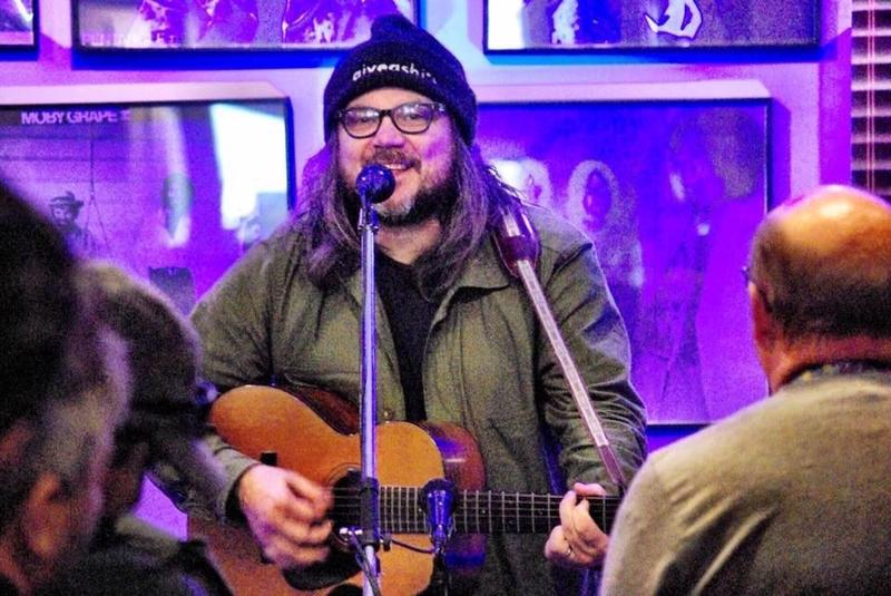 Jeff Tweedy performed at Euclid Records on Nov. 17, 2018.