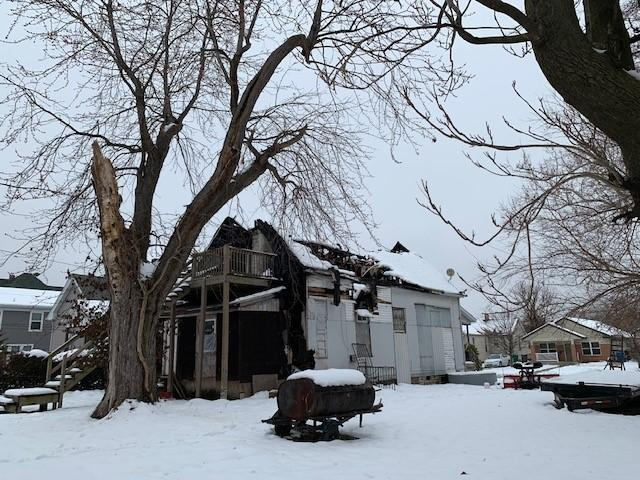 Karen Lee died in an Oct. 29 fire at former East St. Louis Township Supervisor Oliver Hamilton's home, pictured here.